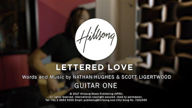 02. Gtr 1- Lettered Love