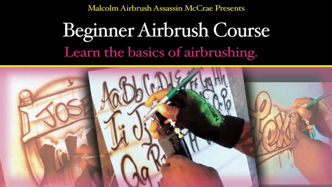 Beginner Airbrush Course