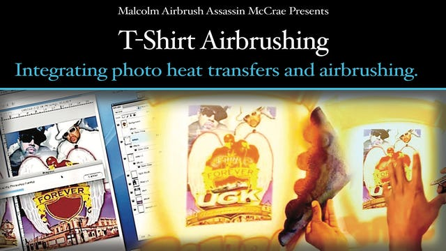 T-Shirt Airbrushing