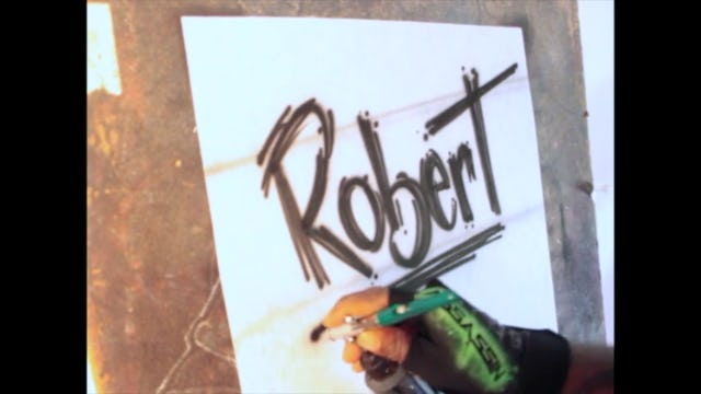 "Scribble Name""Robert"""