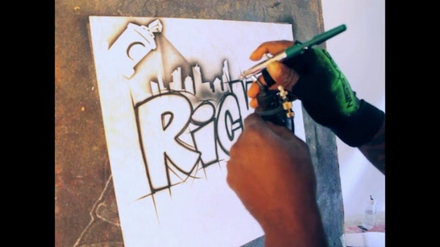 Graffiti Lettering 101