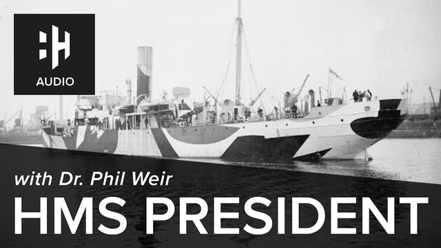 🎧 HMS President with Dr. Phil Weir
