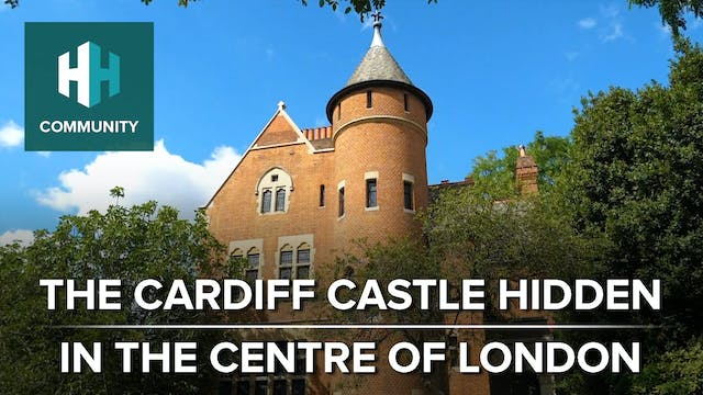 The Cardiff Castle Hidden in the Cent...