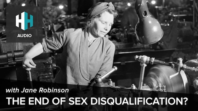 🎧 The End of Sex Disqualification?