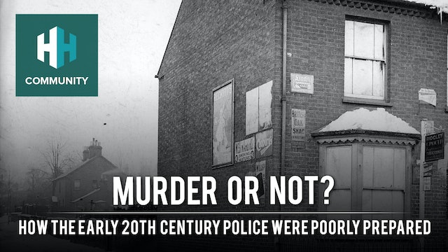 Murder or Not: How the Early 20th Century Police were Poorly Prepared