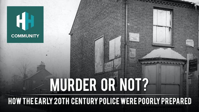 Murder or Not: How the Early 20th Cen...
