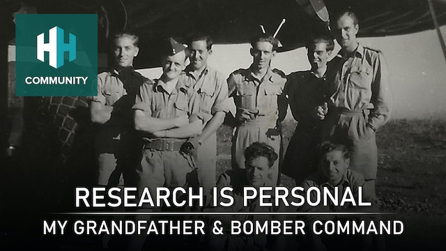 Research is Personal: My Grandfather and Bomber Command