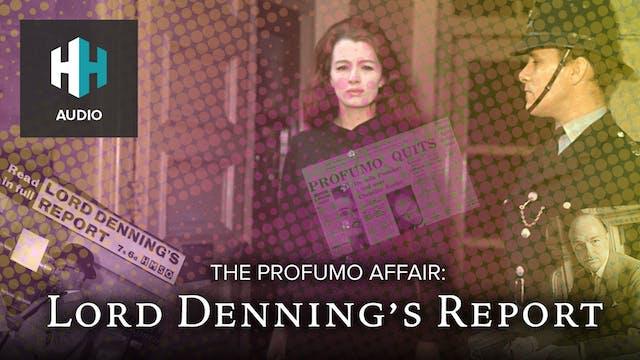 🎧 The Profumo Affair: Lord Denning's ...