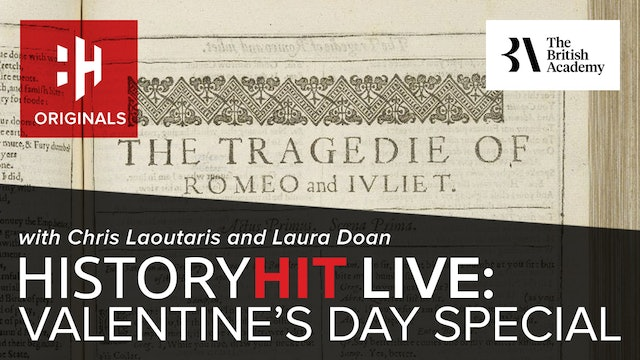 History Hit Live: Valentine's Day Special