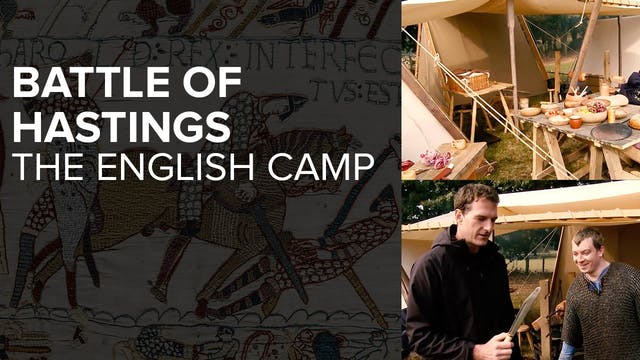 Battle of Hastings: The English Camp