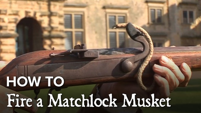 How to Fire a Matchlock Musket