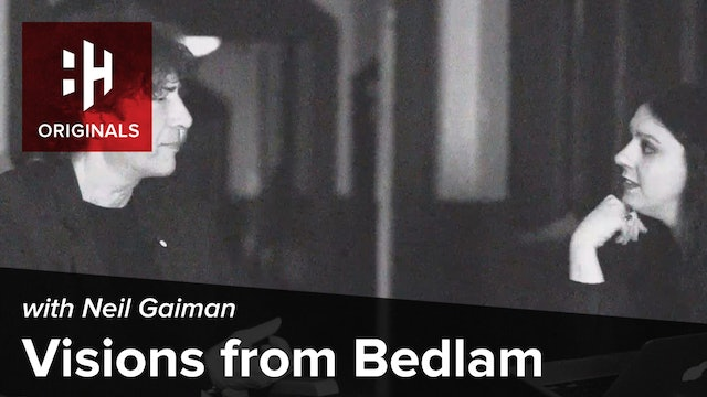 Visions from Bedlam: Neil Gaiman Meets the Art Detective