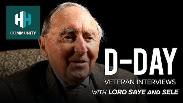 D-Day Veteran Interviews: Lord Saye a...