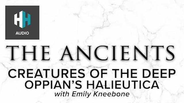 🎧 Oppian's Halieutica: Creatures of t...