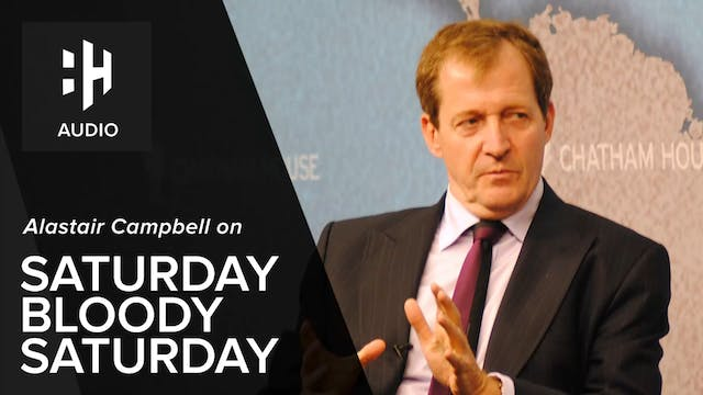 🎧 Alastair Campbell on Saturday Blood...