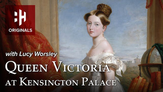Queen Victoria at Kensington Palace w...