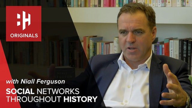 Niall Ferguson on Social Networks Throughout History
