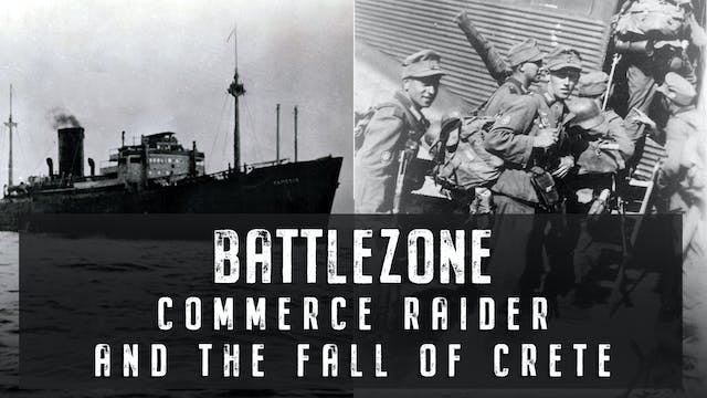 Commerce Raider and the Fall of Crete