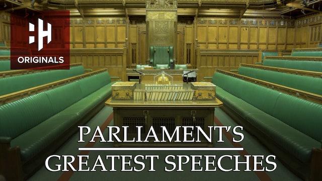 Parliament's Greatest Speeches