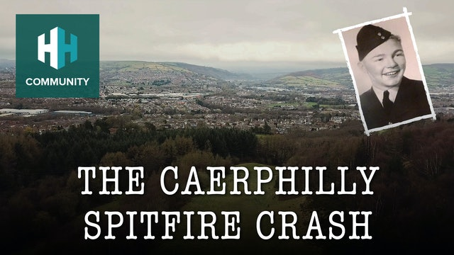 The Caerphilly Spitfire Crash