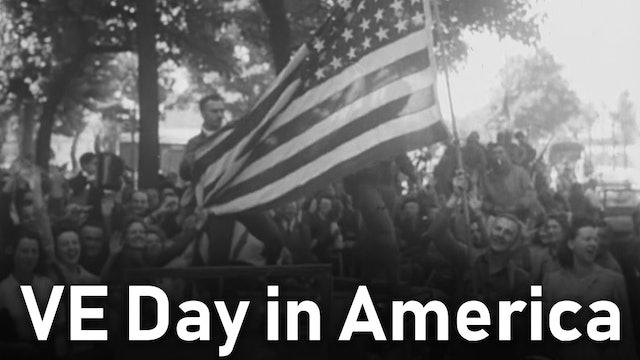 VE Day in America