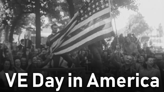 VE Day in America