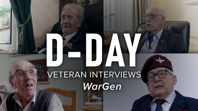 D-Day Veteran Interviews: WarGen