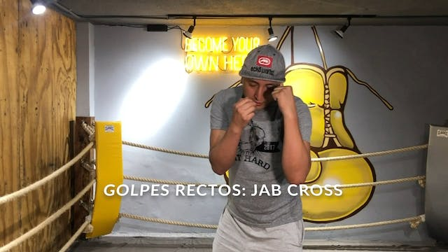 TUTORIALES BOX JAB CROSS