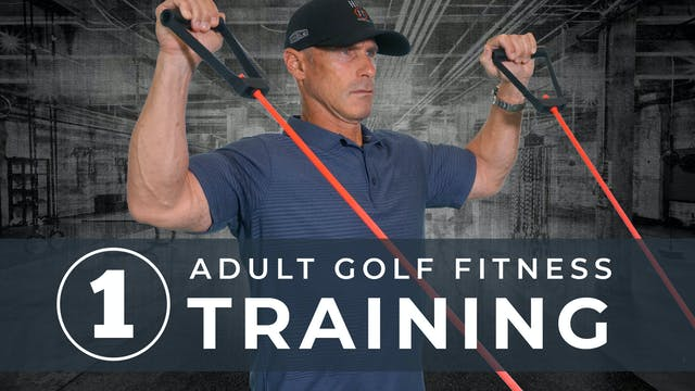 Golf Fitness Training 1