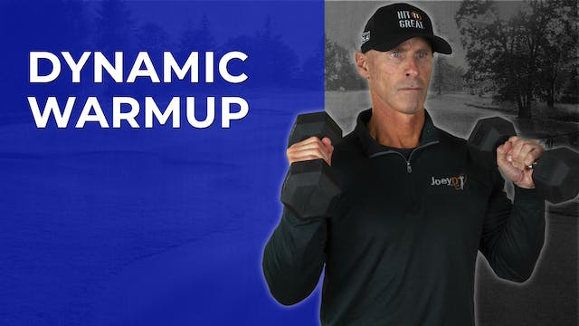 Get Strong: Dynamic Warmup