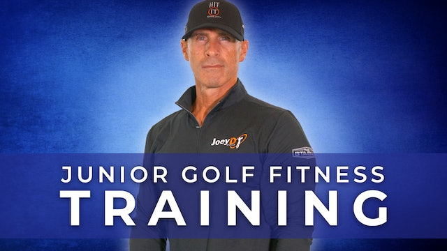 Coach Joey D: Junior Golf Fitness Training