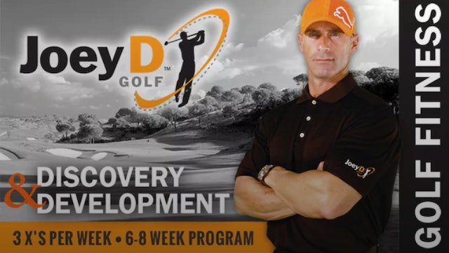 Coach Joey D: Original Golf Fitness DVD