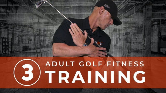 Golf Fitness Training 3