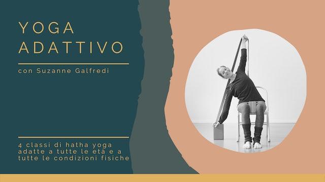 Yoga Adattivo, con Suzanne Galfredi