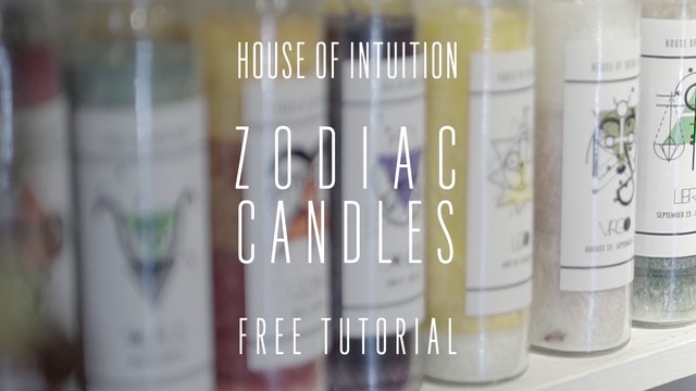 House of Intuition's Zodiac Candles