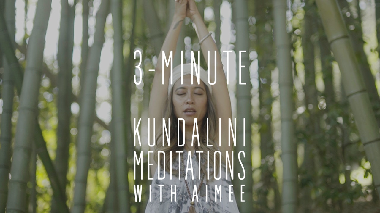 3-minute Kundalini Yoga Meditations Using Mantra as Medicine