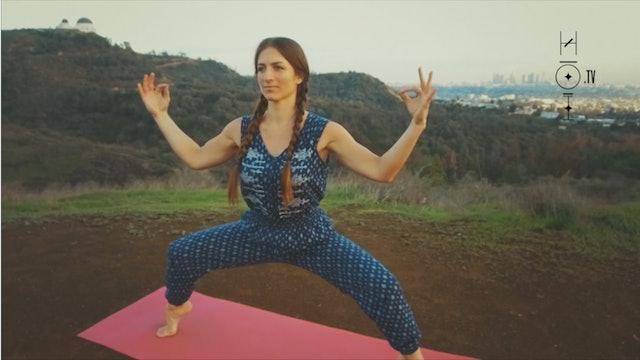 Yoga Moves for a Sagittarius
