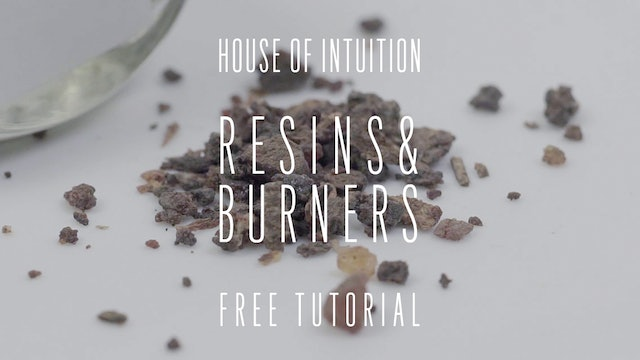 House of Intuition's Resins and Burners