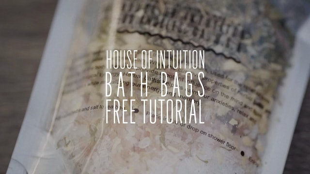 House of Intuition's Bath Bags