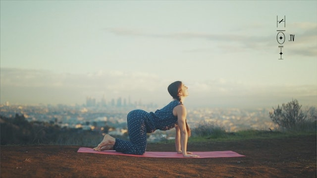 Yoga Moves for a Libra