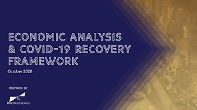 Hollywood Chamber Economic Analysis & COVID-19 Recovery Framework