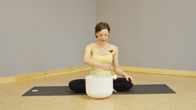 Svasana with Crystal Singing Bowls & Reiki with Julie Bottini