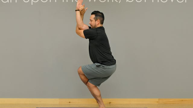 30 Day Challenge: Day 9 Eagle Pose