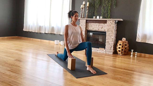 30 Day Challenge: Day 3 Low Lunge