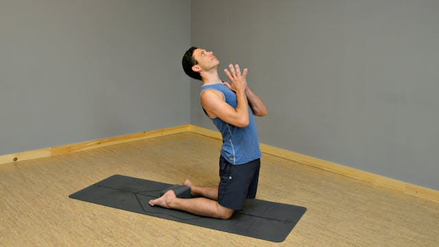 30 Day Challenge Day 25: Camel Pose