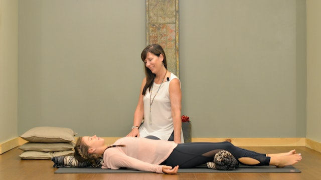 Restorative Yoga with Carolyn Chaiko