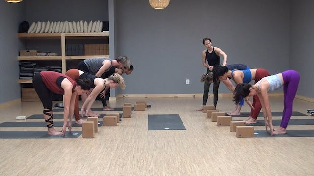 Live Flow Class with Cathy Madeo
