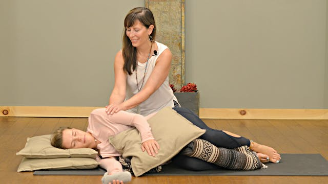 Restorative Yoga: Unwind with Carolyn...