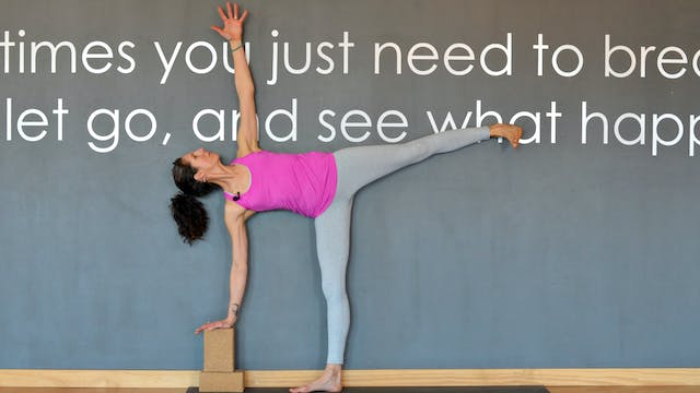 Roots: Build up to Half Moon Pose