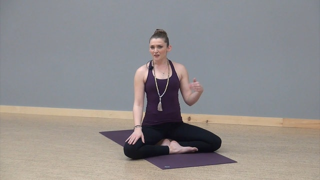 Mindful Minutes: The pose should be steady and comfortable with Charity Luyben